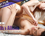 Just A Bit More Then Friends - Allison and Anella