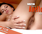 Seduce Me - Sensual Anella is touching her nicely shaped body