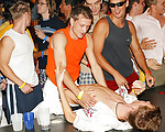 Orgy at the gay bar