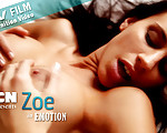 Emotion - Thrilling Zoe is stroking her fine body